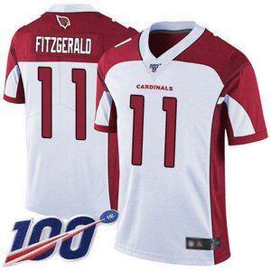 Cardinals Larry Fitzgerald 100th Season Jersey 2